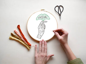 Endure - DIY Embroidery Kit