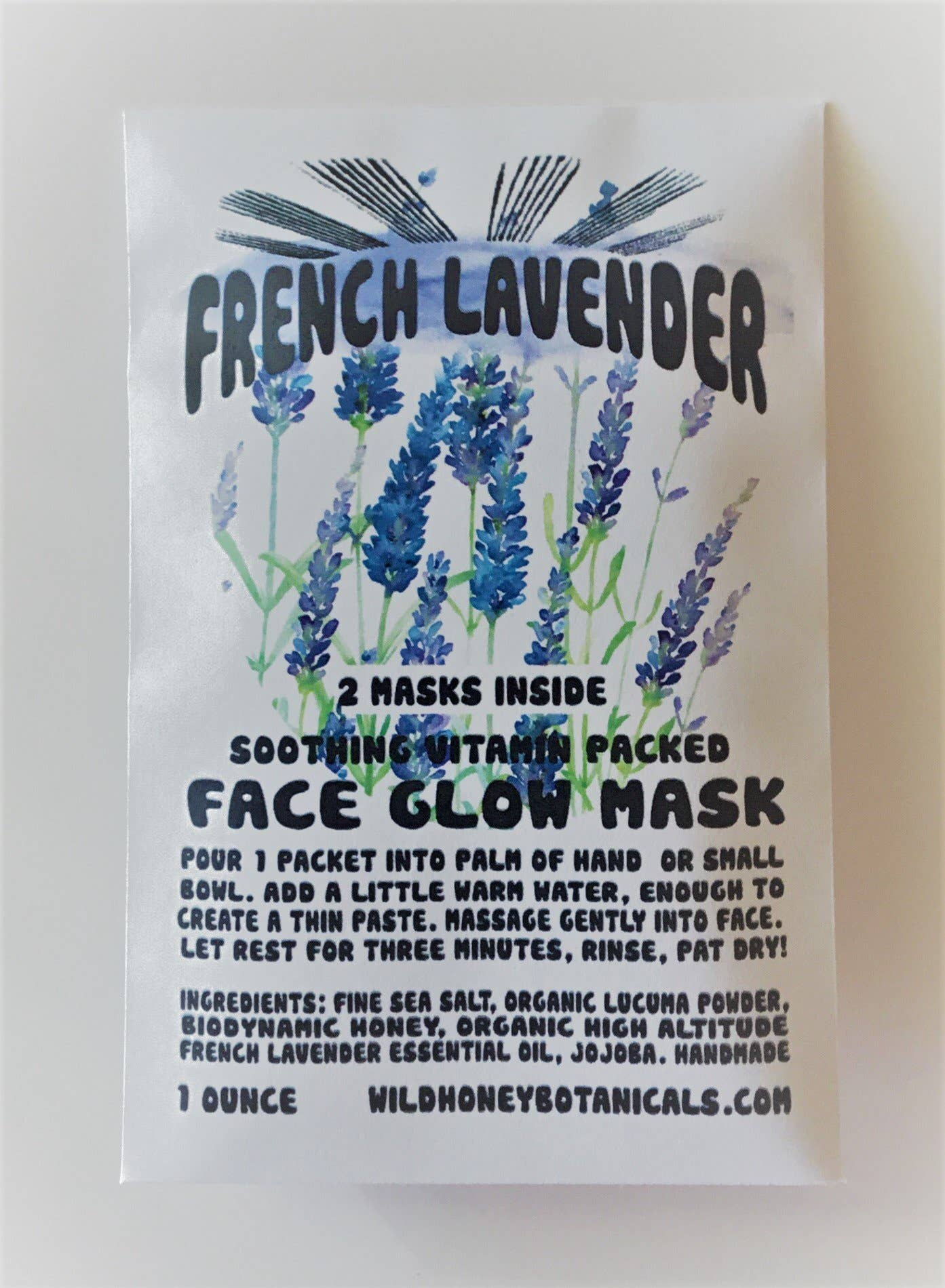 French Lavender Sea Salt Face Glow