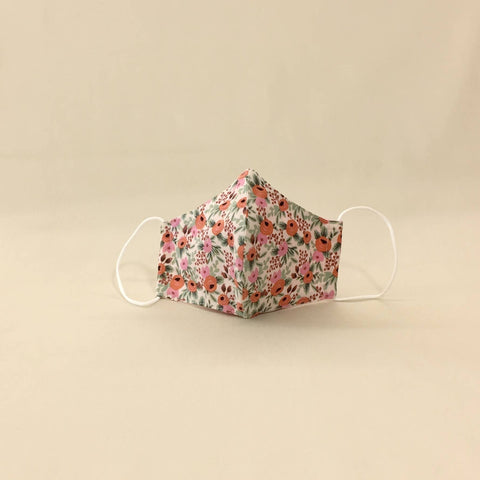 Itty Bitty Baby Clothing Company - Face Mask for Kids Blooming Garden Pink
