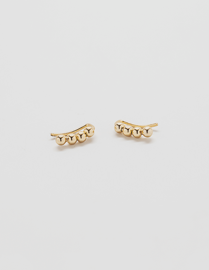 Gold Mini Ear Crawlers