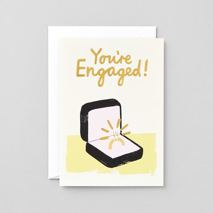 You're Engaged! - card