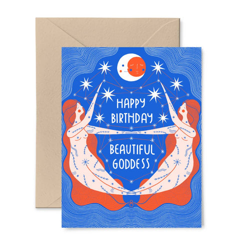 BirthdayGoddess - Card