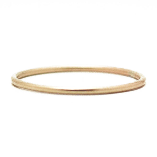 Halo Thin Stacking Ring