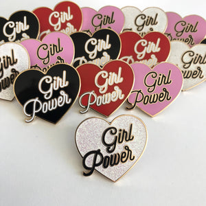 Girl Power - Enamel Pins