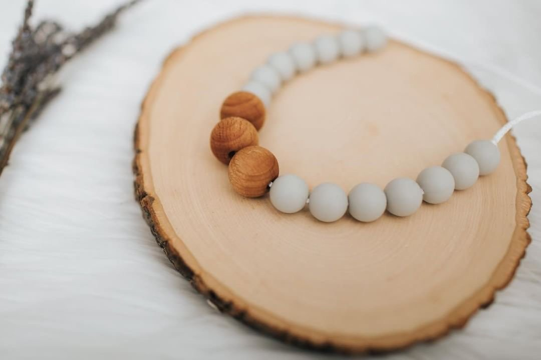 Riverstone Willow Teething Necklace