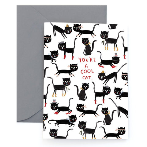 Cool Cats -  Card