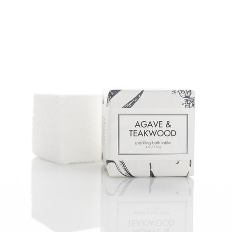 Agave and Teakwood - Bath Tablet