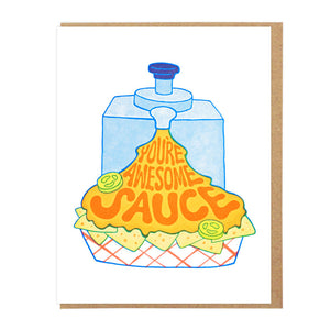 You're Awesome Sauce - Card