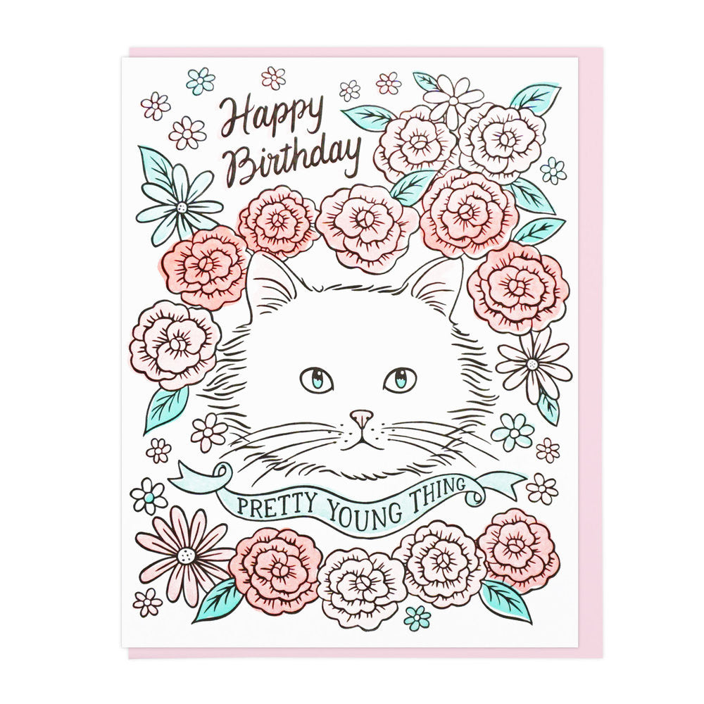 Pretty Young Thing Birthday - Card