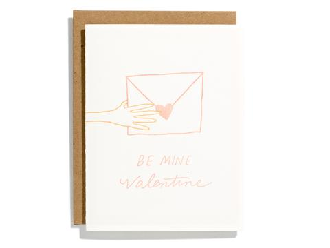 Be Mine Valentine - Card