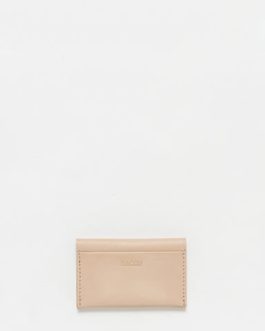 Leather Card Holder - Fawn