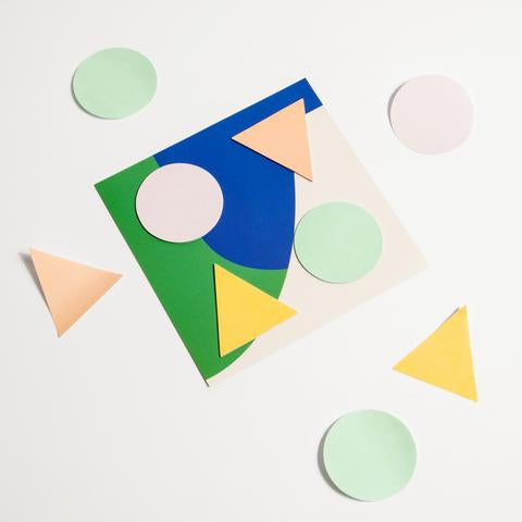 Geometric Sticky Notes