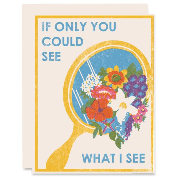 If Only You Could See What I See - Card