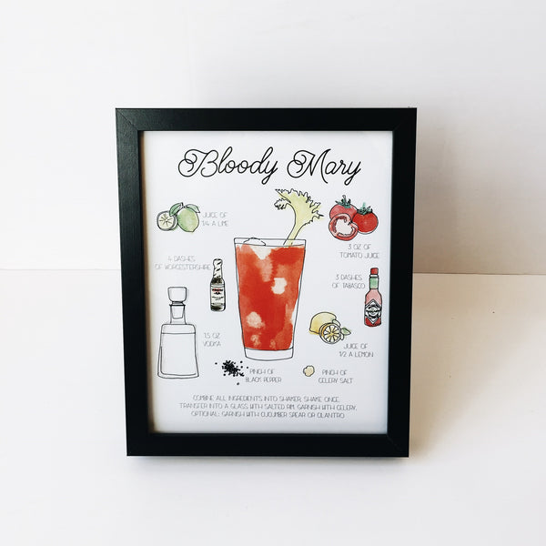 Bloody Mary - Drink Print