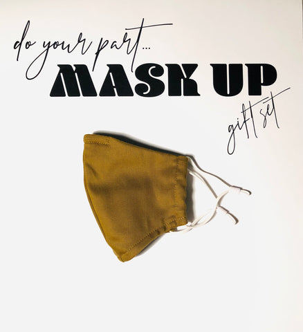 Do Your Part - Mask Up - Gift Set