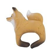 Rob the Fox- teething bracelet