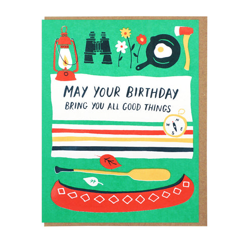 All Good Things Birthday  - Card