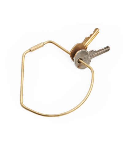 Contour Key Ring - Bell