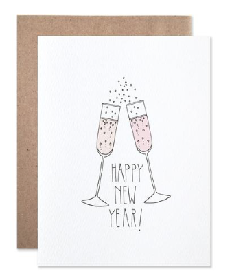 New Year Cheers - Card