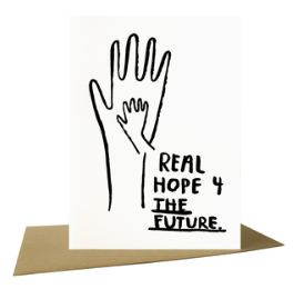 Real Hope for the Future - Card