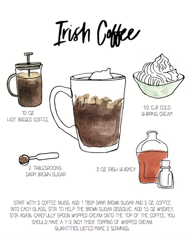 Irish Coffee - Drink Print