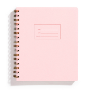 Pink Notebook - lined