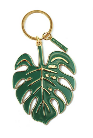 Monstera Leaf - Keychain