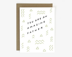Amazing Father - Card