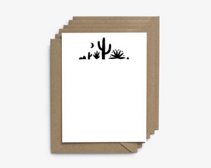 Desert Cactus Note - Set of 6