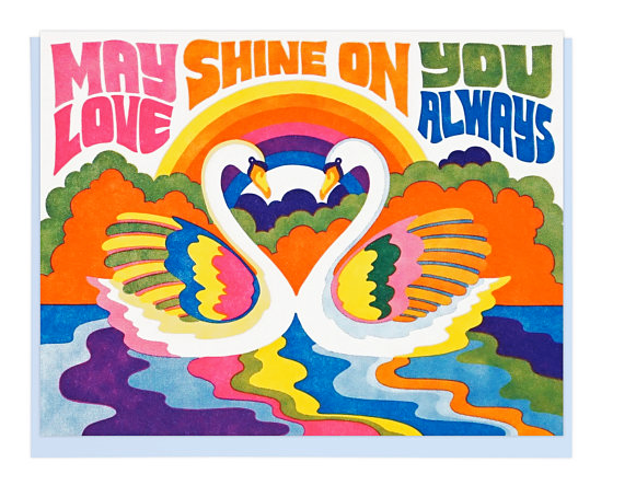 May Love Shine  - Card