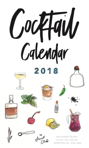 Cocktail Calendar - 2018