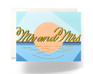 Mr. and Mrs. - Card