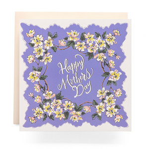 Handkerchief Mother's Day - Card
