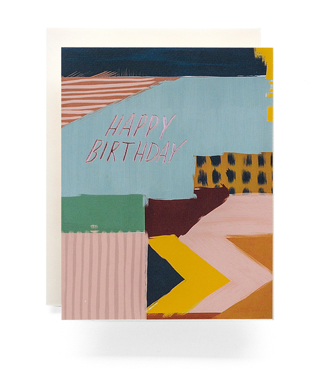 Abstract Birthday - Card