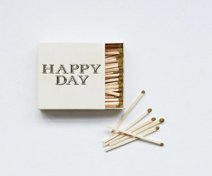 Happy Day - matchbox