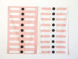 Cotton Tea Towel - Graphic print