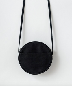 Circle Purse - Canvas - Black