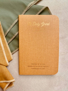 Mustard - Pocket-Sized To Do Journal
