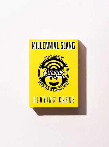 Millennial Slang - Playing Cards