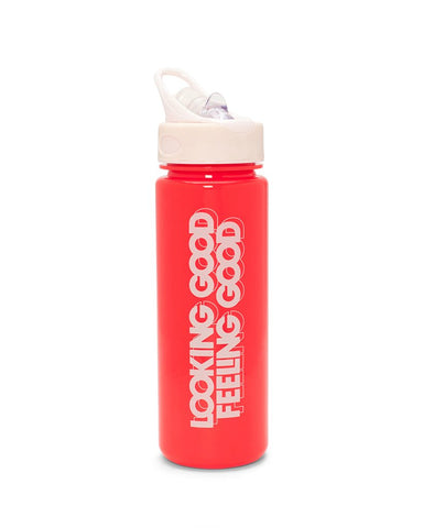 Work It Out Water Bottle - Looking Good, Feeling Good