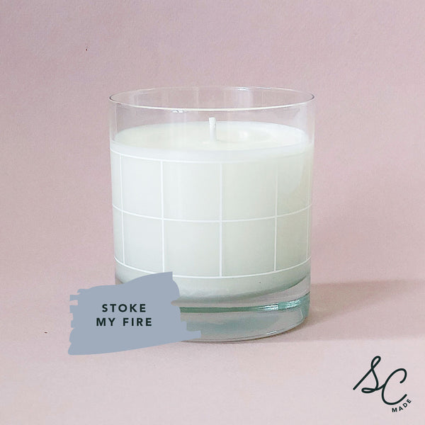 Stoke My Fire - Candle