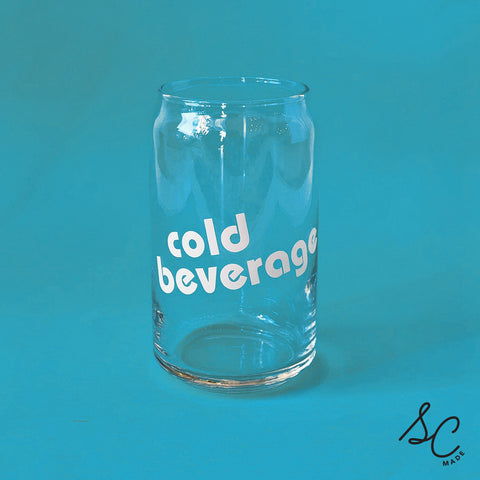 Cold Beverage - Can Glass - set of 2