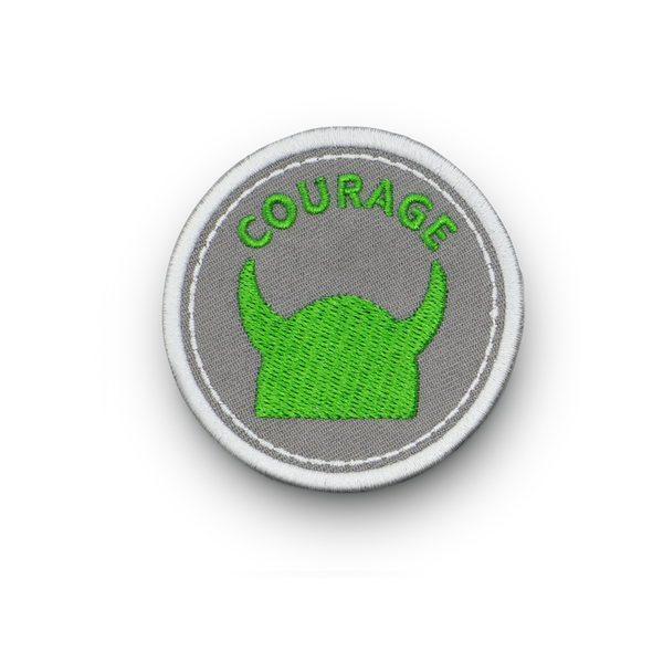 Courage - Iron on Patch