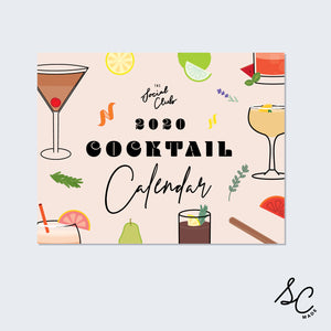 Cocktail Calendar - 2020