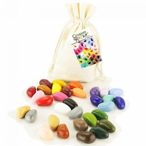32 Colors - Muslin Bag - Crayon Rocks