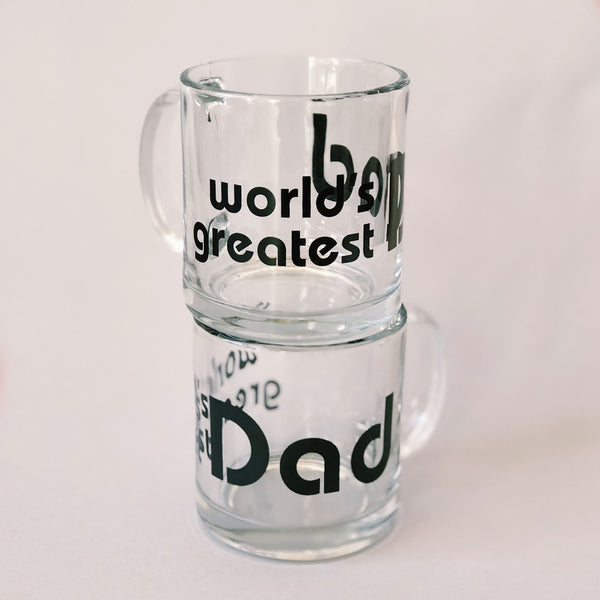 World's Greatest Dad - Black - Mug