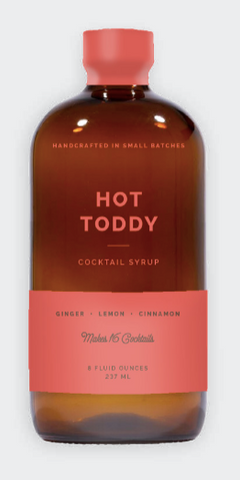 Hot Toddy syrup
