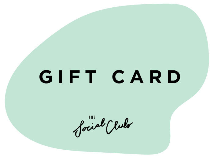 The Social Club Gift Card