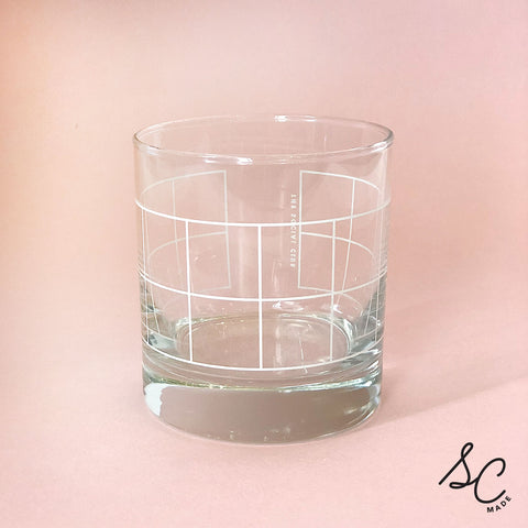 Grid Glasses - set of 2