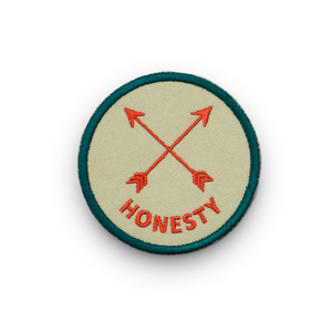 Honesty - Iron on Patch